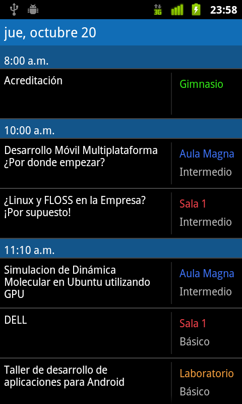 Aplicacion Android - Programa